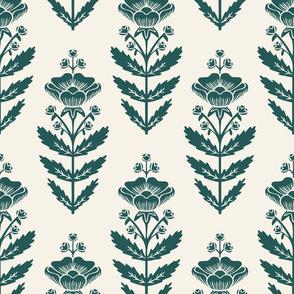 Folk Art Buttercup, Green