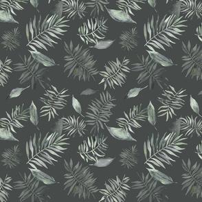 Moody tropical leaves