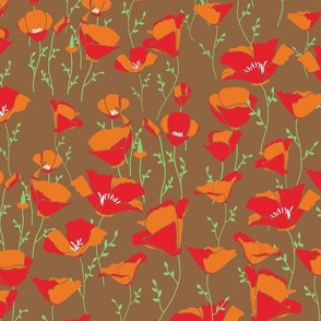 Poppies_Brown