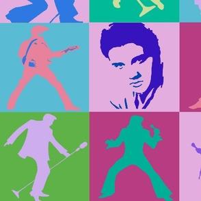 Elvis Rock n Roll Wallpaper