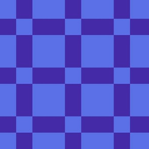 Blue on Blue Checkers