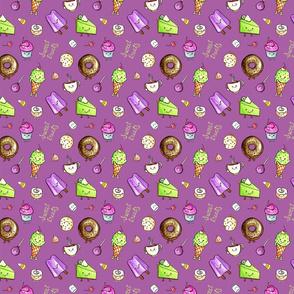 Kawaii Sweet Treats Pattern