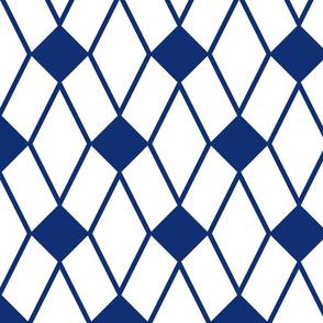 Geometric Blue