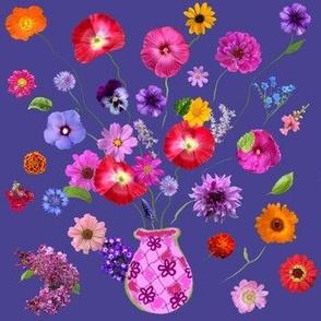 Flowers Dreaming Beyond the Vase