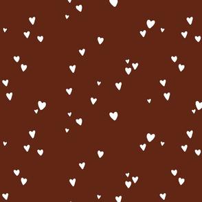 mahogany hearts