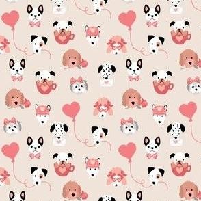 Valentine Puppies mini