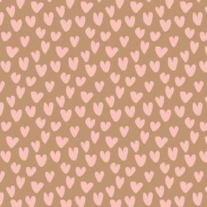 Hand Drawn Pink Hearts