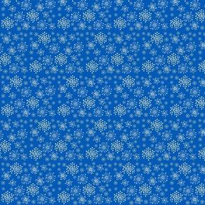 snowflakes-2020 pantone classic blue