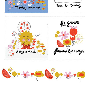 Sunny's Garden Soft Book - 1 Yard