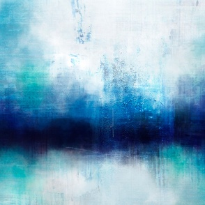 Abstract Reflections 42 inches x 36 inches