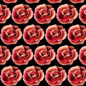 Red 3D Rose