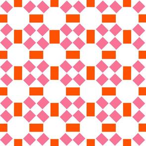 Simple Sun in Pink Orange