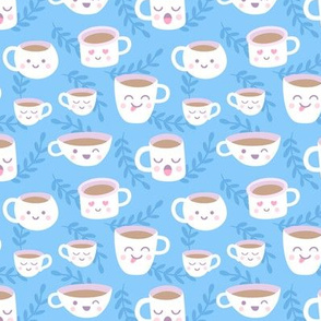 Mugs and Cups Blue
