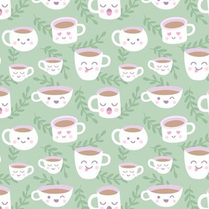 Mugs and Cups Dusty Green