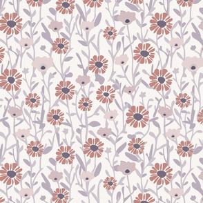 Red Lavender Flower Vines