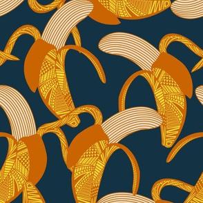 Banana Wrap - Navy
