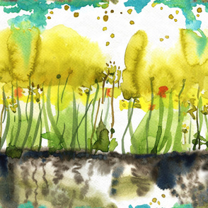 Abstract Summer Meadow
