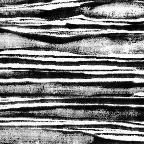 painted stripes in black & white, texture, background