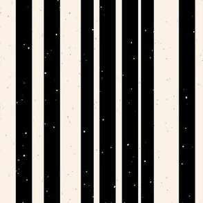 black stripes with speckles