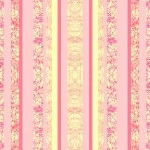 pastel pink stripes