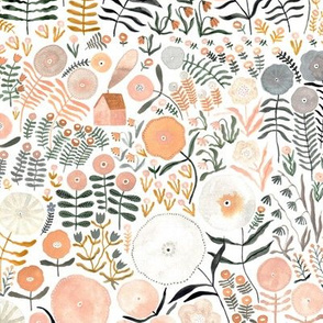 flower forest | watercolor