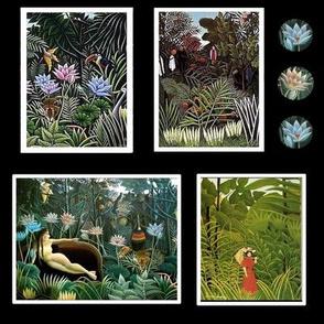 Henri Rousseau Jungle 2