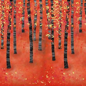 Birch Forest One Yard
