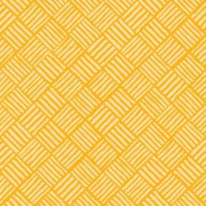 Diagonal Weave Tropic Sun