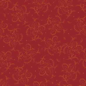 Porch Perfect flower spray red 2026-16