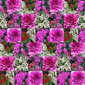 Patchwork of Cabbage & Florals