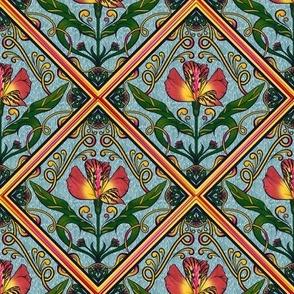 Flowery Tile 10
