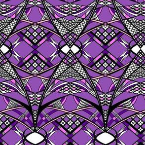Purple Arc Grid