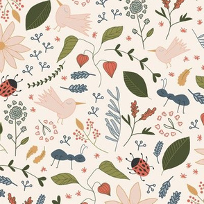 Winter Garden _ Bugs - TILE