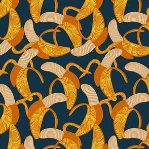 Banana Wrap - Small- navy