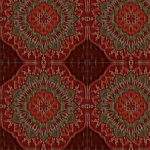Burgundy Sol Tiles