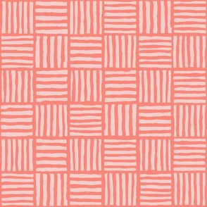 Basic Weave Australian Coral