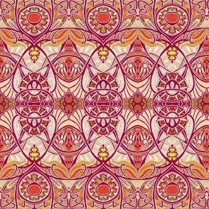 Victorian Gothic (red/orange)