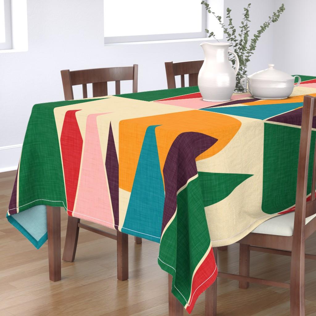 Bantam Rectangular Tablecloth featuring Solaris  by bruxamagica