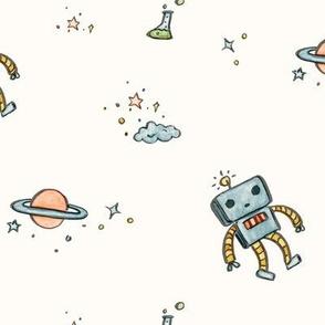 SpaceRobots in Cream