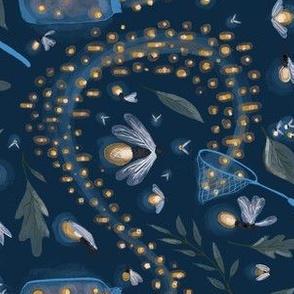 Catching Fireflies- Horizontal