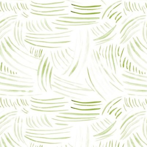 Watercolor khaki abstract brush strokes ★ painted green tonal minimal design for modern home decor, bedding, nursery