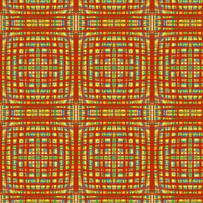 Sketchy Autumn Threads - Medium Scale
