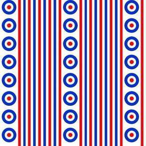 Mod Targets Stripe