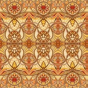 Victorian Gothic (orange/yellow/brown)