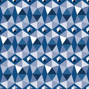 pentagons classic blue
