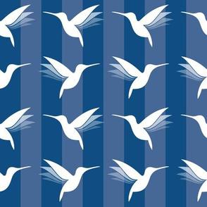 hummingbirds classic blue