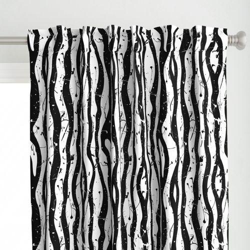 painted zebra stripe