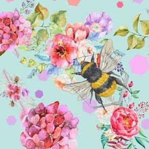Bee Pattern Small