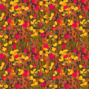 Retro 90s floral in bold