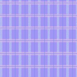Summer pale Purple Plaid
